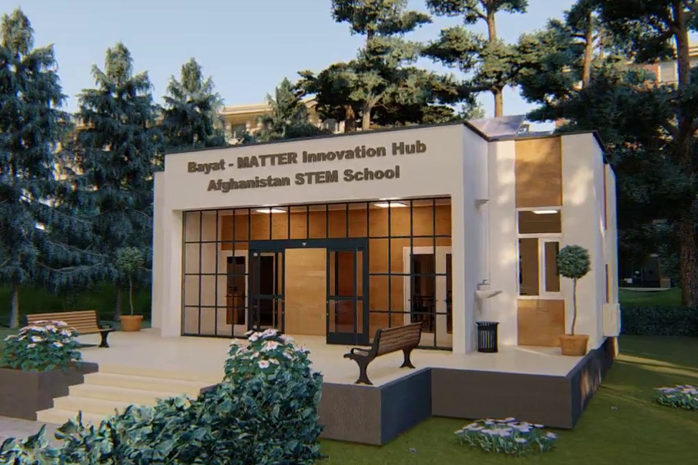BAYAT FOUNDATION LAYS CORNERSTONE TO KABUL HIGH SCHOOL STEM CENTER